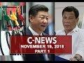 News (November 19, 2018) PART 1