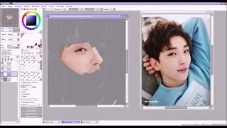 Download Lagu Speedpaint | SVT Joshua Hong / Hong Jisoo (홍지수) Mp3