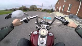 4. 2004 Harley Davidson Road King Custom test drive review