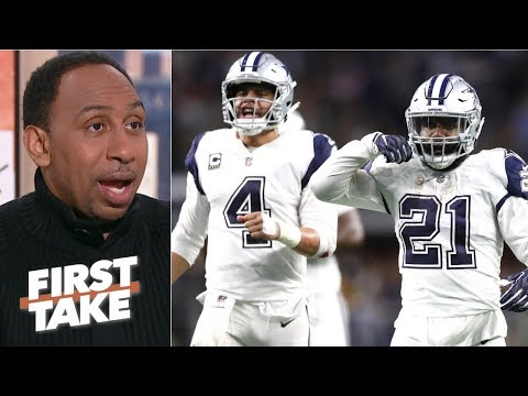 Stephen A. gives Cowboys a 75% chance to upset Rams  First Take
