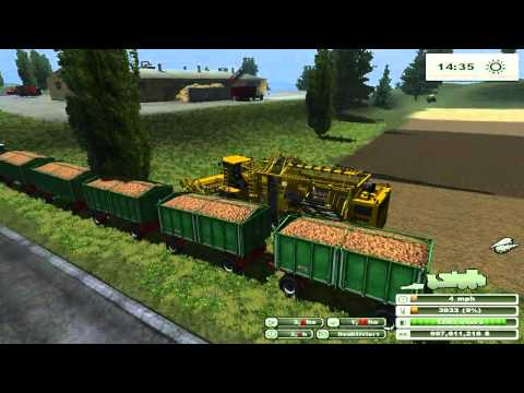 FARM SIM SATURDAY  Deere's map