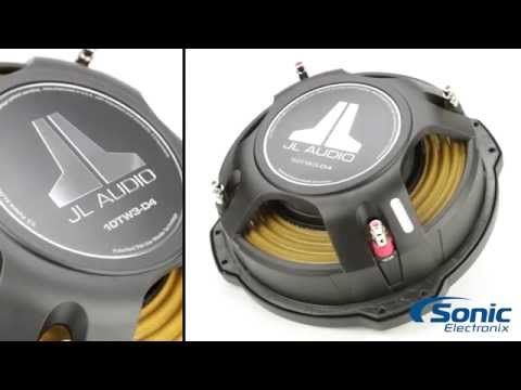 JL Audio TW3 Shallow Car Subwoofers | Product Overview
