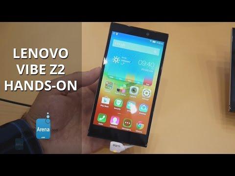 Lenovo Vibe Z2 Hands-on