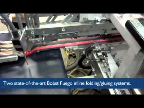 Inline Folding/Gluing at Seidl's Bindery