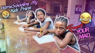 I'm Homeschooling My Kids Prank! (First Day Of School)