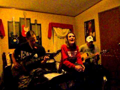 """The Flame"" by Cheap Trick,(cover) Myself and Friends"