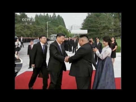 Nordkorea/China: Nach 14 Jahren besucht der chinesische Präsident wieder Nordkorea