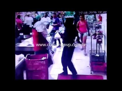 Bandidos assaltam supermercado no Cidade Aracy