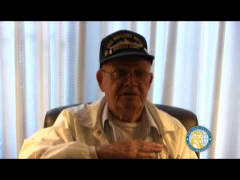 USNM Interview of Robert Watts Part Two Service on the USS Missouri and meeting President Truman