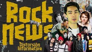 """EL MEJOR NOTICIERO DEL MUNDO DEL ROCK, EN ESPAÑOL! En esta ocasión, Alexis nos cuenta sobre la """"nueva"""" canción de..."""