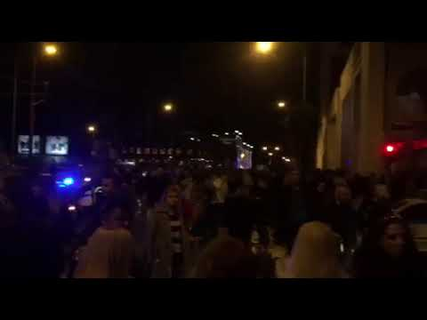 Video - Τηλεφώνημα για βόμβα στο κέντρο που εμφανίζονται Πάολα