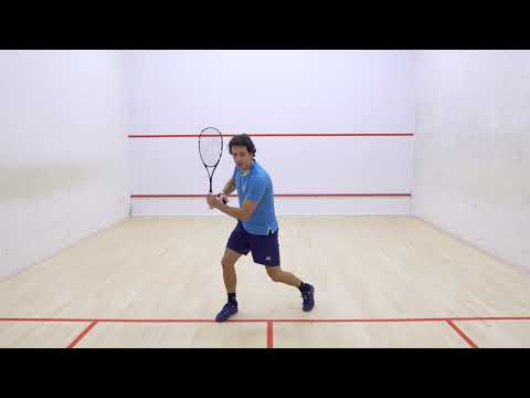 Squash tips: Flow through the shot with Lee Drew