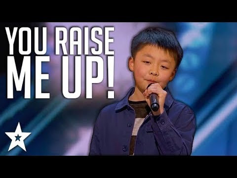 13 Y.o Kid Singer Gets Standing Ovation On America's Got Talent | Got Talent Global