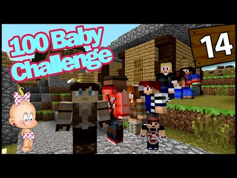 Minecraft: 100 Baby Challenge - OUR NEW GRANDCHILD! - EP 14