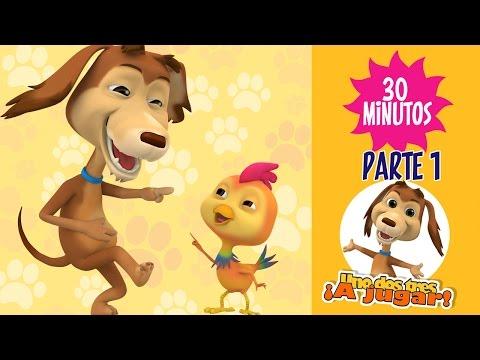 perro chocolo - Con los Enganchados El perro Chocolo podrás disfrutar de media hora de los capítulos Uno dos tres a jugar!