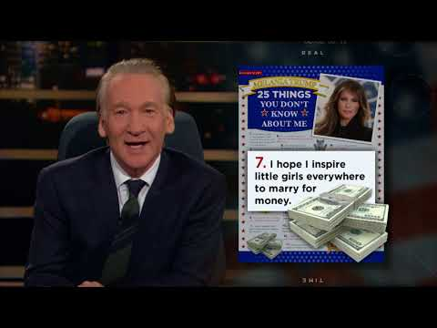 25 Thing You Don't Know About Melania Trump | Real Time with Bill Maher (HBO)