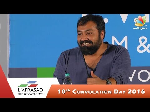 Chennais-Only-Top-Film-Institute-L-V-Prasad-Academy-Convocation-Day-Anurag-Kashyap-Speech