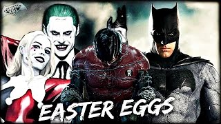 Suicide Squad - ALL EASTER EGGS & THINGS YOU MISSED!