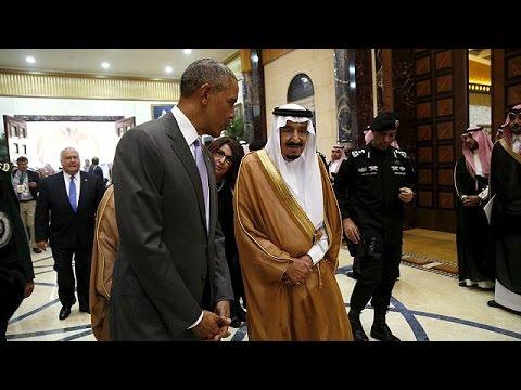 Σαουδική Αραβία: Συνάντηση Ομπάμα με τον βασιλιά Σαλμάν