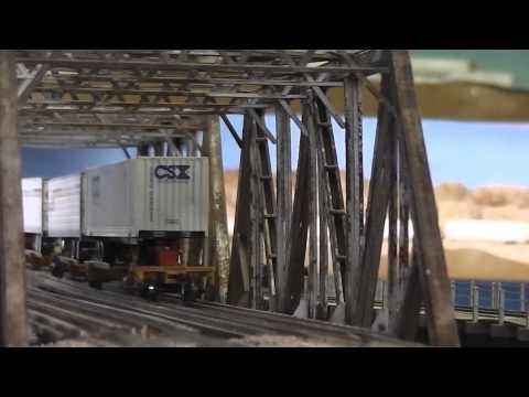 KCS Mixed Freights at GoldenSpike   part 4
