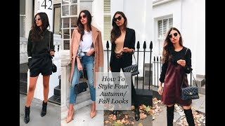 How To Style: Four Autumn Looks