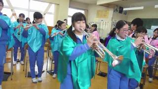 Isesaki Japan  city photo : Daiichi JHS Band - Tequila, Isesaki, Japan
