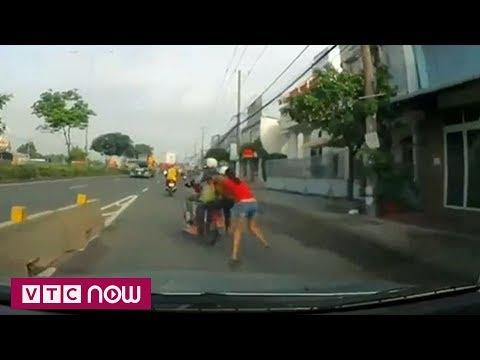 Truy bắt nhóm cướp kéo lê cô gái trên đường | VTC1 - Thời lượng: 44 giây.