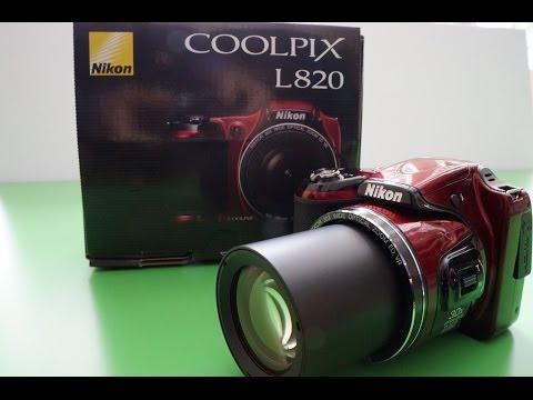 Nikon L820 REVIEW