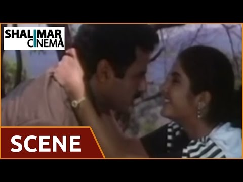 Dharma Kshetram Movie || Love Scene Between Balakrishna & Divya Bharati || Shalimarcinema