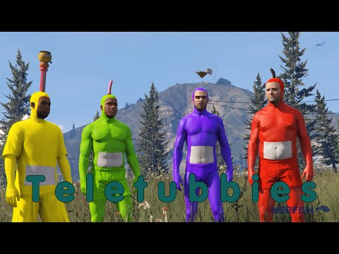 Teletubbies recreated in GTA V