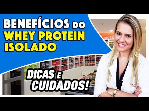 Nutricionista - Benefícios do Whey Protein Isolado - Como Usar e Dicas [EMAGRECE?]