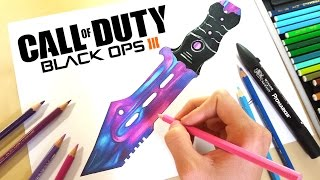 Drawing - Combat Knife Dark Matter - Black Ops 3Any suggestion will be credited if chosen :DLet me know what about what you think below!!(If you have any suggestion for me to draw, let me know in the comment)Equipment and Art Tools- Color Pencil: Caran d'ache - Prismalo Color Editing equipment- Sony DSC-WX50 (Amazon: http://goo.gl/P7UzH5)- Final Cut Pro X & iMovie (Mac App Store)- Manfrotto Compact Tripod (Amazon: http://goo.gl/QsZuCM)- SelfieStick Music:Level Up - Doctor VoxYoutube: https://youtu.be/eUX39M_0MJ8A Creative Commons Attribution License (CC BY) states that the material can be shared, remixed and used commercially as long as you give appropriate credit.