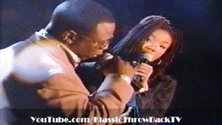 "Brandy & Wanya Morris - ""Brokenhearted"" Live (1995)"