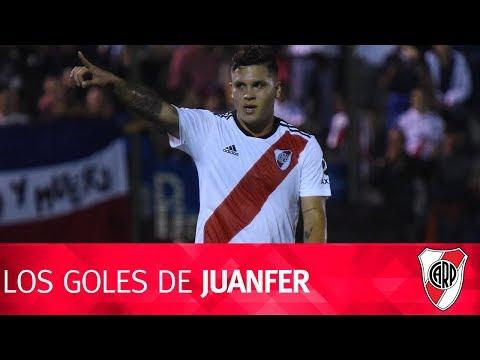 Goles de Juan Fernando Quintero con el Más Grande en el 2018