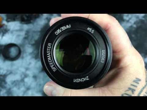 😎!! UNBOXING MITAKON 35mm f0.95 😳😳FUJI X-Mount (видео)