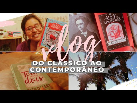 ? vlog de leitura 02: do clássico ao contemporâneo + unboxing