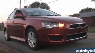 2014 Mitsubishi Lancer SE AWC Test Drive&4WD Car Video Review