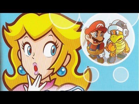 super princess peach nintendo ds youtube