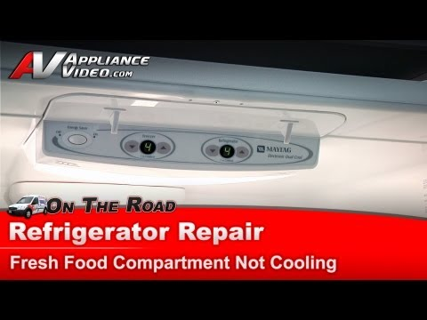 Maytag Refrigerator Repair – Not cooling in the fresh food compartment – MFF2557HEW