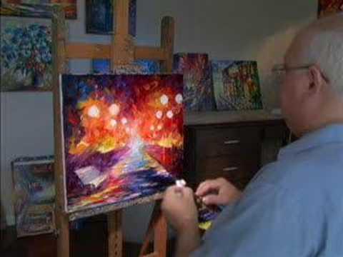 0 The Sui Generis Paintings of Leonid Afremov
