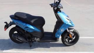 9. GO AZ MOTORCYCLES 2017 Piaggio TYPHOON 125