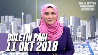 Video Buletin Pagi (2018) | Khamis, 11 Oktober MP3, 3GP, MP4, WEBM, AVI, FLV November 2018