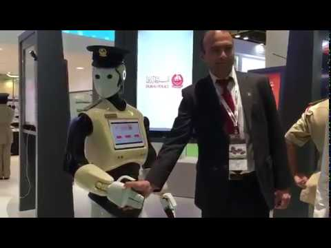 Video Dubai's first Robocop starts active duty download in MP3, 3GP, MP4, WEBM, AVI, FLV January 2017