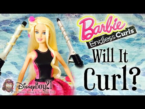 Will It Curl? - Barbie Endless Curls Doll Hands-on Impression & Review