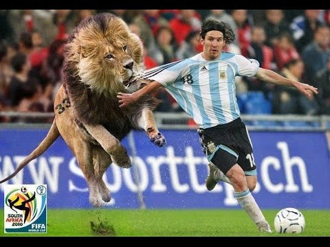 Funniest Football Moment - Messi Runs For is Life