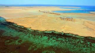 Dahlak Island From The Air