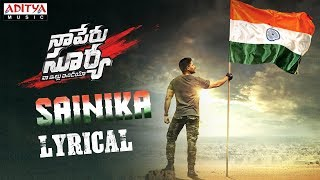 Naa Peru Surya Naa Illu India movie songs lyrics