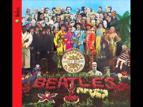 Sgt. Pepper - 1. Sgt. Pepper's Lonely Hearts Club Band - 0:00 2. With a Little Help from My Friends - 2:02 3. Lucy in the Sky with Diamonds - 4:46 4. Getting Better - 8:1...