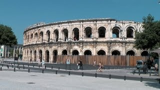 Nimes France  City pictures : Nimes, Languedoc-Roussillon, France [HD] (videoturysta)