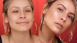 HOW TO FLAWLESS SKIN WITH NO FOUNDATION  DESI PERKINS